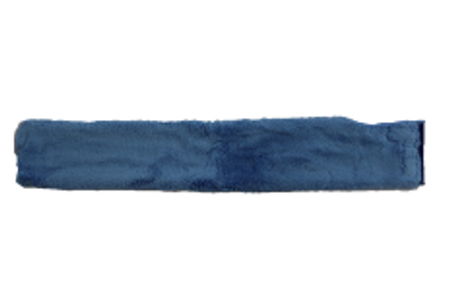 DUST WAND SLEEVE MICROFIBER BLUE