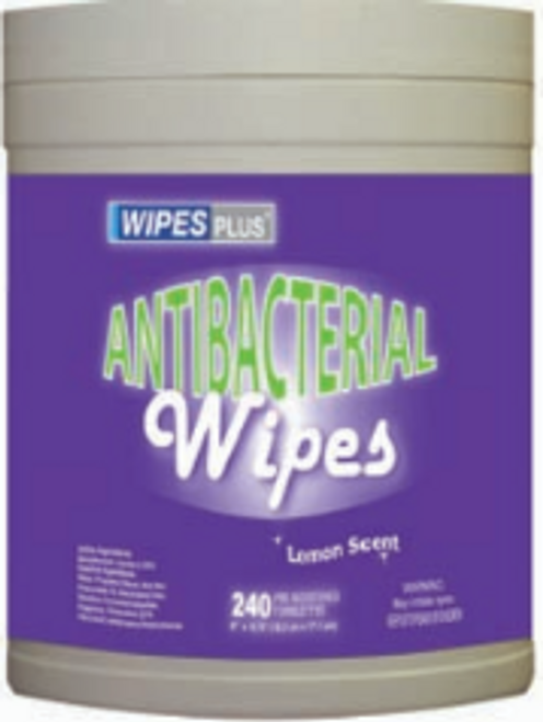 WIPE HAND ANTIBACT 240CT(12)PP33803