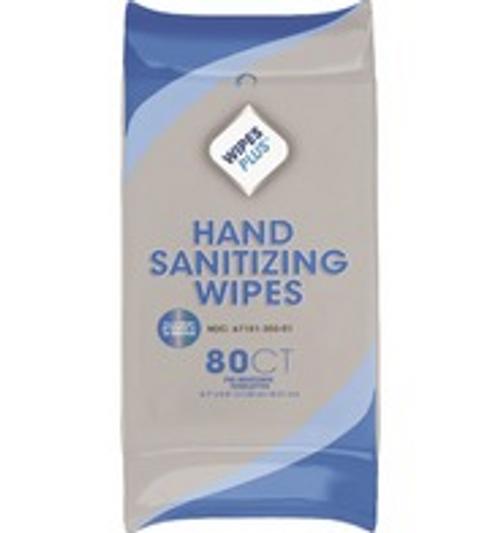WIPE HAND SANITIZR 80CT(12)37503