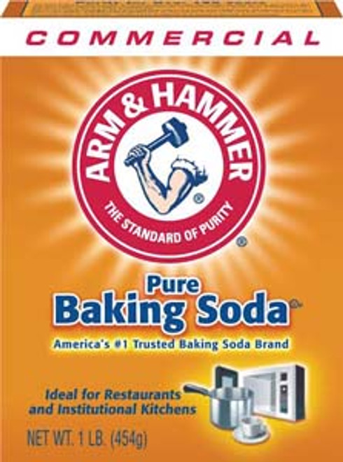 CLEANR BAKING SODA 1LB(24)A&H 84104 ORIGINAL ARM & HAMMER