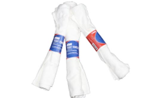 WIPER TOWEL TERRY WHITE 50/3PK