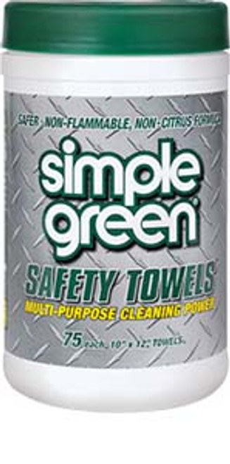 CLEANER SIMPLE GREEN TOWELS 6 TUBS/ 75 PCS. PER TUB