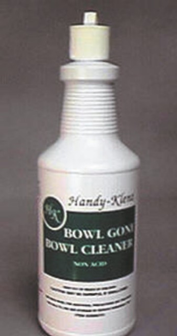 BOWL CLEANER GONE NON-ACID 12 QUARTS PER CASE