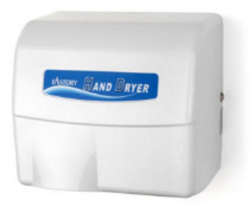 DRYER HAND AUTO ALUMINM HD907 WHITE