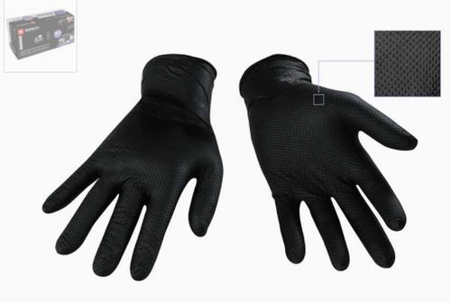 Nitrile Textured Glove 6 mil Black Diamond