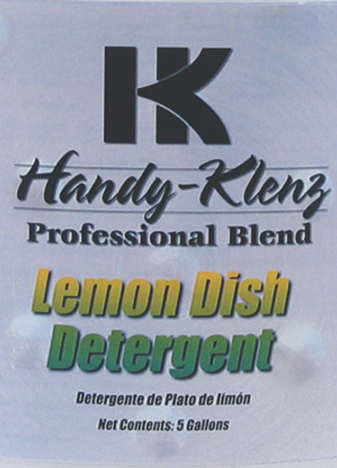 CLEANR DISH DET LEMON GAL LEM DETERGENT 4/1GALLON HK