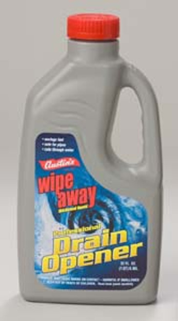 DRAIN CLEANER LIQUID WIPE AWAY  PROFESSIONAL DRAIN OPENER 66SK  12/32