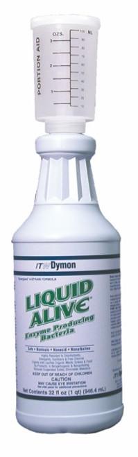 ENZYM CLEANER LIQUID ALIVE NON-ACID (12/QUARTS)