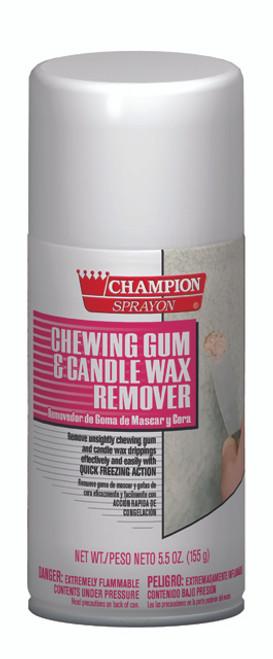 WAX FLOOR CLEANER GUM WAX/ REMOVER AEROSOL INSTANT FREEZE NO CFC'S 12 OZ.12/CS