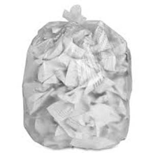 BAG TRASH 45 GALLON 16 CLEAR HK 40X48 (250)