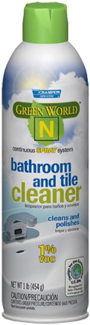 CLEANR BATHROOM GREENWORLD'N'CH5911 GREEN WORLD 'N' 1%VOCs 12CS 1#