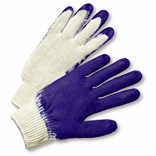 PALM PURPLE COATED LATEX KNIT 12 PAIR PER CASE