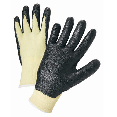 NITRILE COATED KEVLAR GLOVES 12 PAIR PER CASE