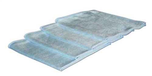 "Microfiber Blue Glass 16"" x 16"""