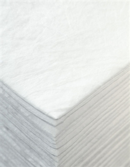 """Sorb-Tex white oil only pre-cut pad  Double weight 15"""" x 18"""""""
