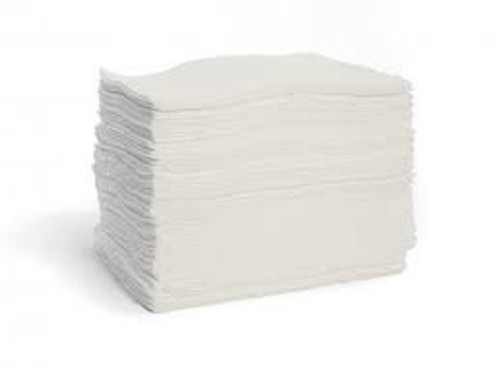 """Sorb-tex white oil only pre-cut Double weight economy pad 15"""" x 18"""""""