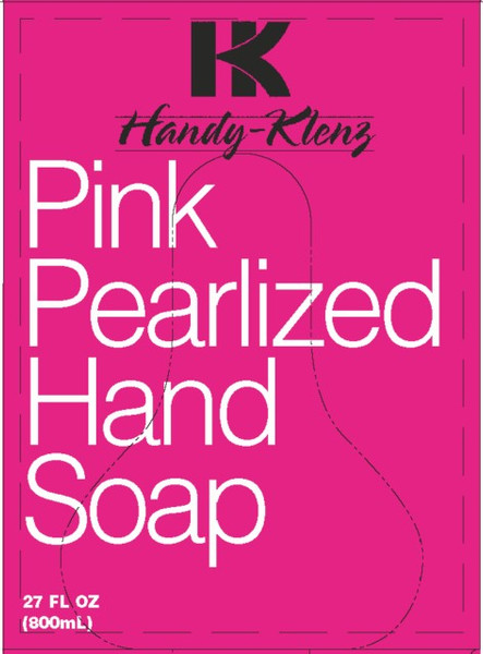 PINK PEARL HAND SOAP 800ML PK12