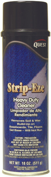 BASEBOARD CLEANER  STRIP-EZE - FOR WAX BUILD UP (12) 20 oz