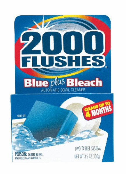 BOWL CLEANER  2000 FLUSHES 3.5 OZ 12 PER CASE AUTOMATIC