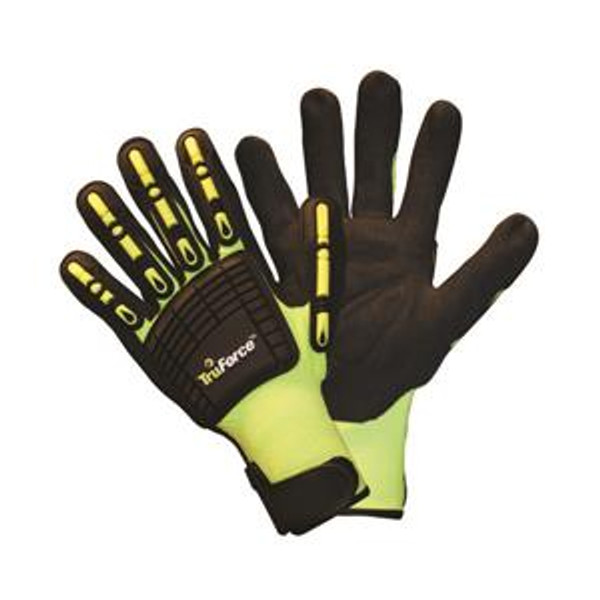 TruForce™ Nitrile Coated Dorsal Protection Small Glove