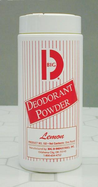 DEODORANT CARPET POWDER 12/1LB BD152 LEMON BD152 FINE CRYSTALLINE POWDER