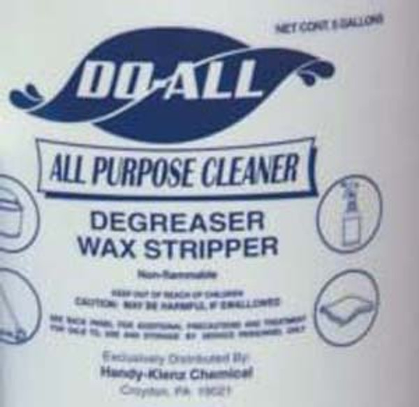 CLEANR DO-ALL HEAVY DUTY DEGREASER  4/1 GALLONS