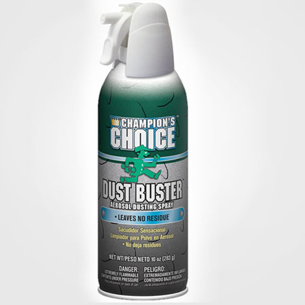 DUST BUSTER CLEANER 10 OZ. MOISTURE FREE NO RESIDUE 10 OZ. X 12/CS