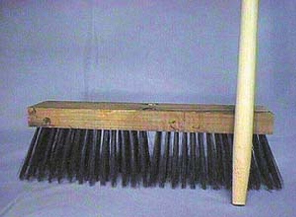 """SWEEP STREET 16"""" WIRE WITH 60"""" HANDLE"""