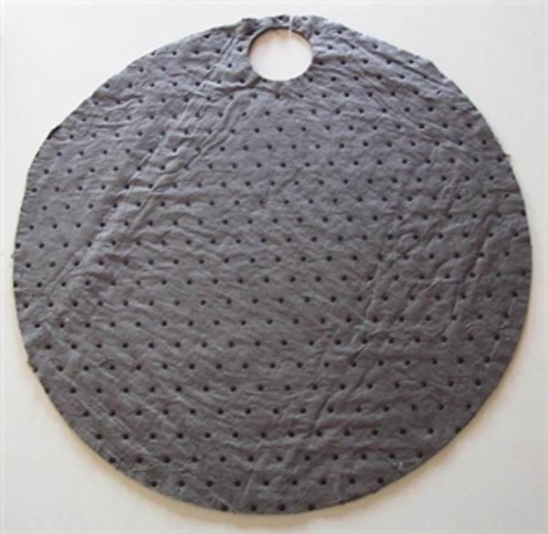 "Sorb-Tex universal grey  22"" Round Drum Top pad"
