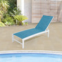 Crestlive Products 1-Piece Outdoor Adjustable Chaise Lounge Chair