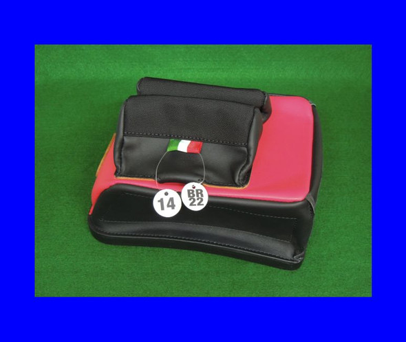 Standard  Rear Bag (14mm Black and Red)