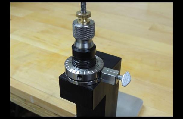 PMA Micro Die Adjuster w/ Thumb Screw Upgrade