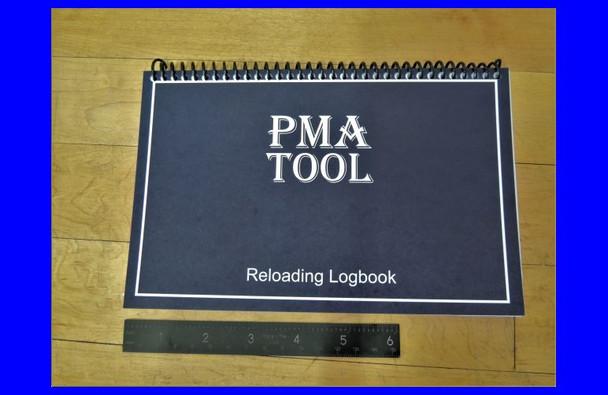 "PMA Reloading Logbook Small (5.5"" x 8.5"")"