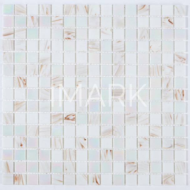 iridescent mosaic tiles