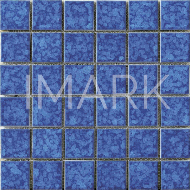 Blue Waterdesign Square Catalan Porcelain Floor and Wall Tile