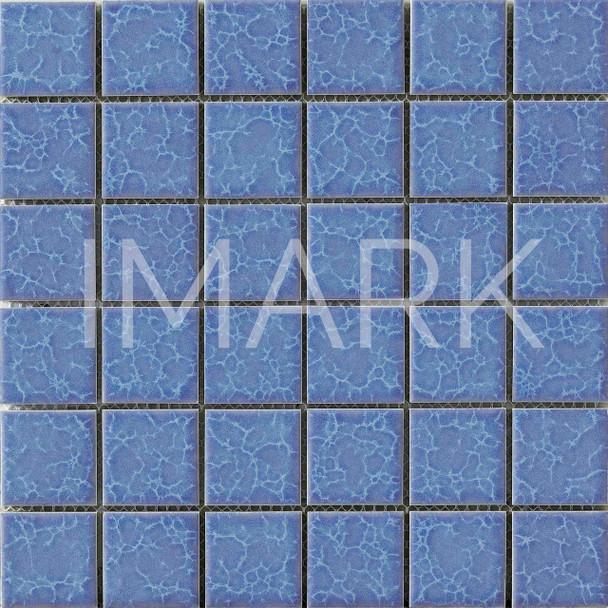 National Aquatic Ocean Blue Ceramic Mosaic Swimming Tiling Pool