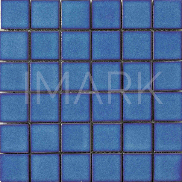 Blue China Ceramic Pool Mosaic Tile Manufacturer
