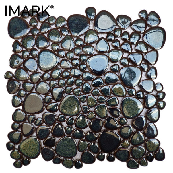 China Wholesales Price Ceramic Mosaic Tile Garden Pebble Flooring