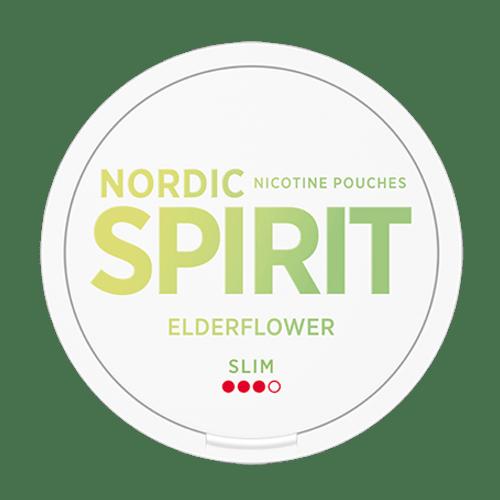 Nordic Spirit Slim Nicotine Pouches - Elderflower