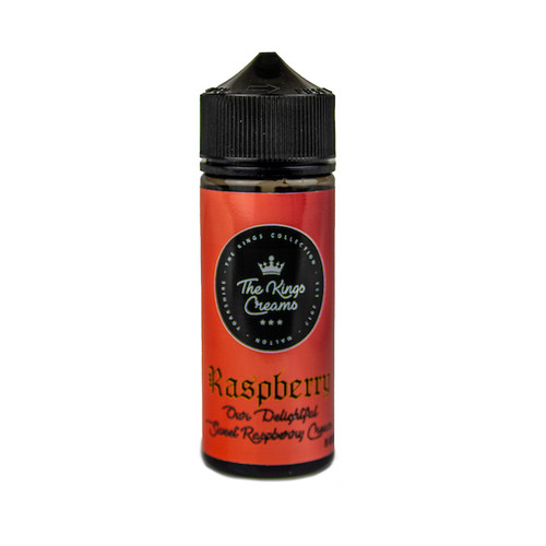 The Kings Creams - Raspberry 100ml Shortfill