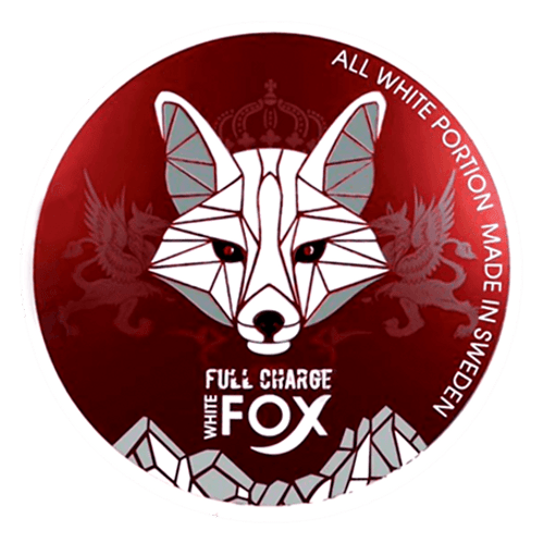 White Fox Full Charge Extra Strong Large Nicotine Pouches