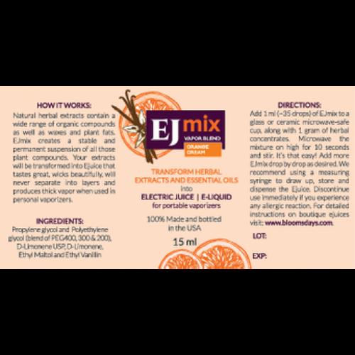Orange Cream EJmix - 15ml