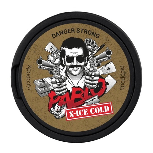 Pablo X-Ice Cold Nicotine Pouches - 35mg/g