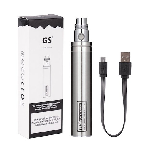 GS eGo II Prime 2200mAh Battery + USB Cable