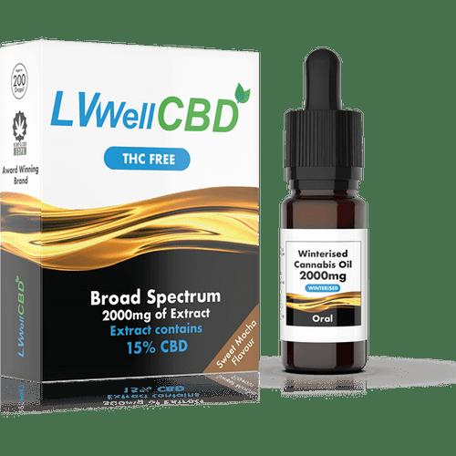 LVWell CBD Oral Winterised THC-Free Broad Spectrum