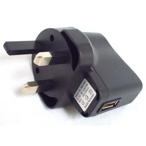 500mA USB Wall Plug (UK)