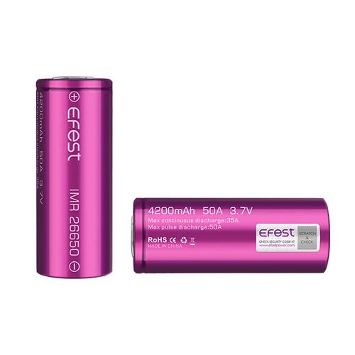 Efest IMR 26650 4200mAh Battery