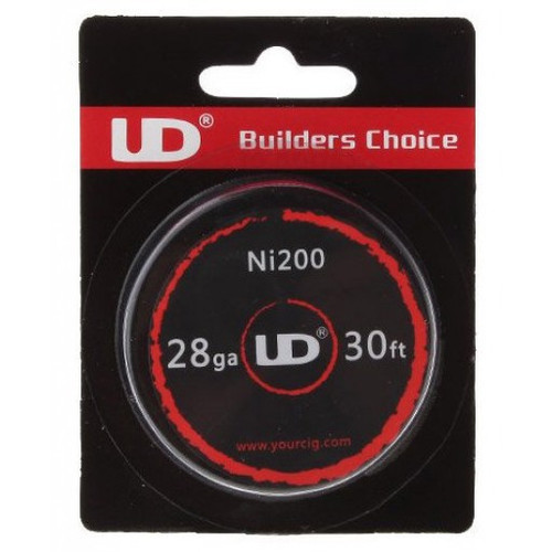 UD Ni-200 Nickel Wire 28 AWG - 10m