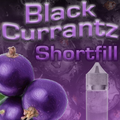 Blackcurrantz 50ml Shortfill