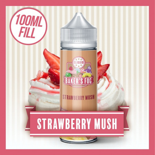 Strawberry Mush 100ml Shortfill